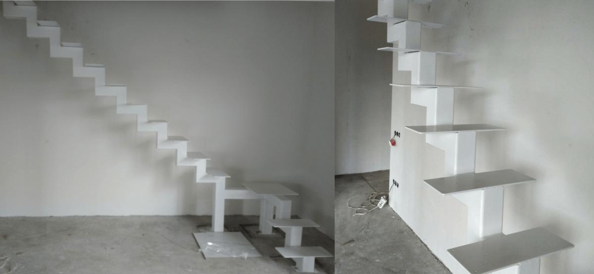 каркас лестница