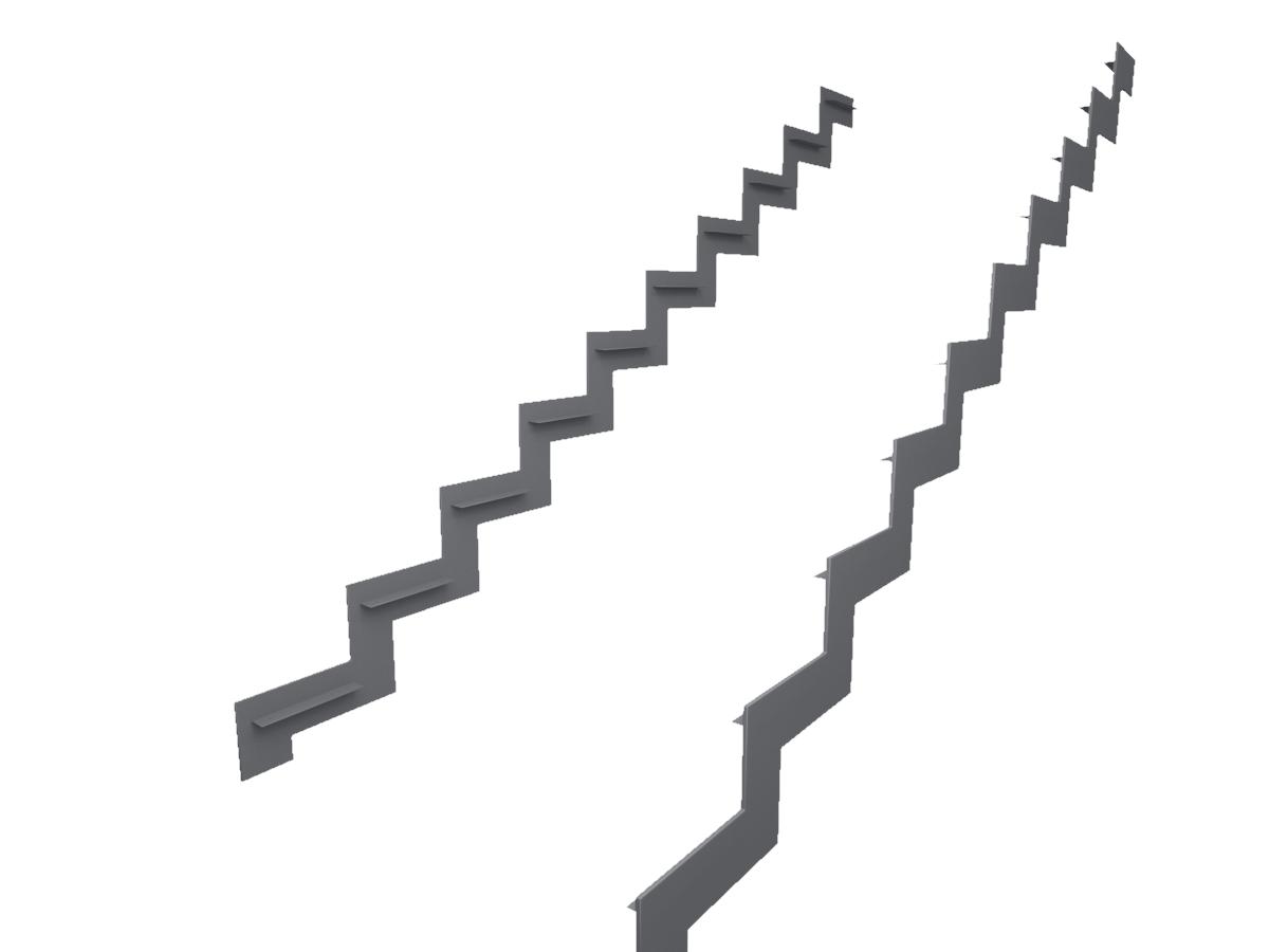металлический каркас для лестницы из листа 10 мм