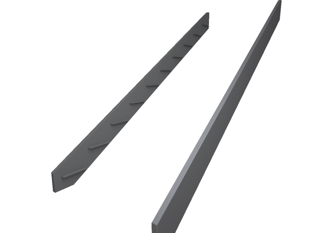 тетива для лестницы из листового  металла 250*50