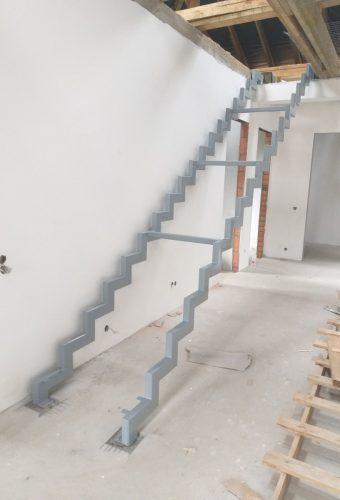 металлический каркас лестницы Старое Село