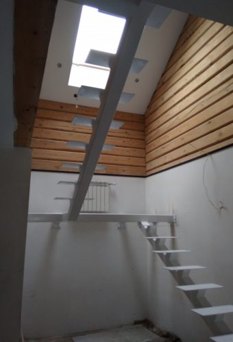 металлический каркас для лестницы Хатежино