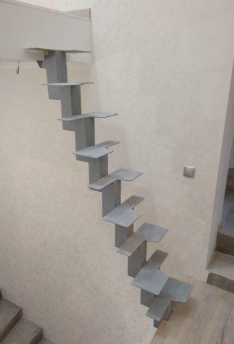 лестница гусиный шаг п. Солнечный
